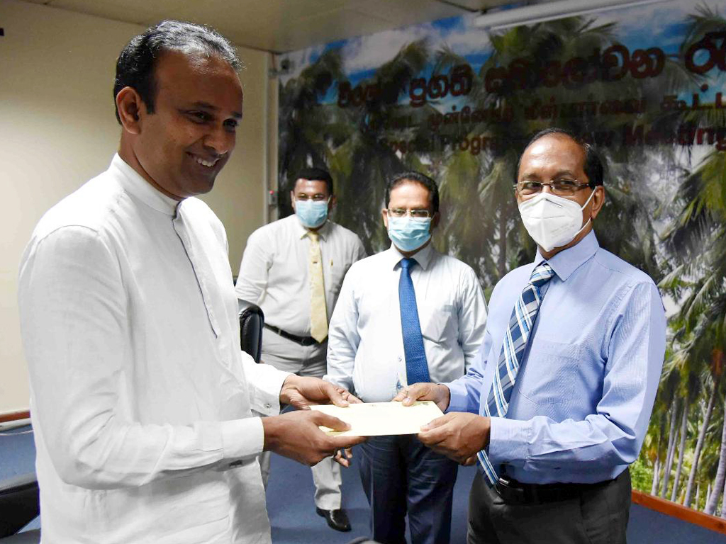 SRI Donation for the COVID-19 Healthcare and Social Security Fund